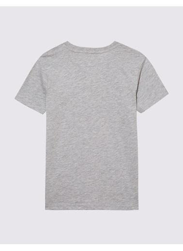 Marks & Spencer Pamuklu Grafik T-Shirt Gri